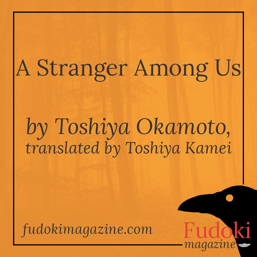 A Stranger Among Us by Toshiya Okamoto, translated by Toshiya Kamei