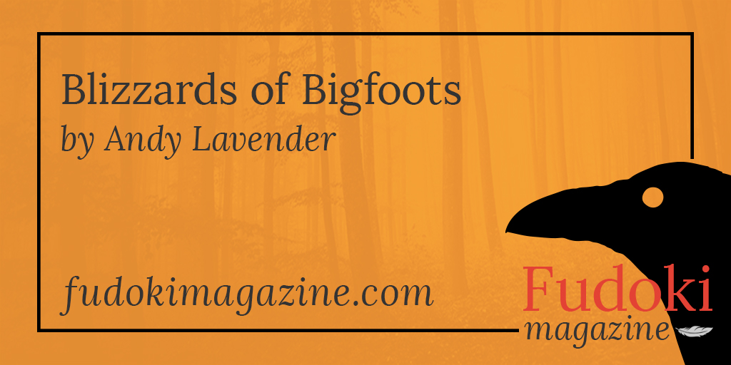 Blizzards of Bigfoots by Andy Lavender