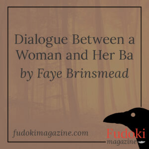 Dialogue Between a Woman and Her Ba by Faye Brinsmead