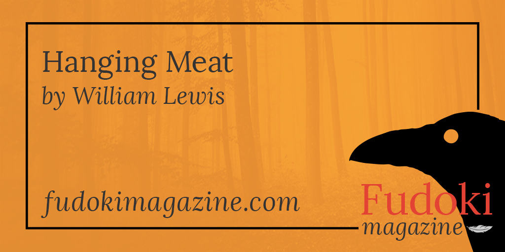 Hanging Meat by William Lewis
