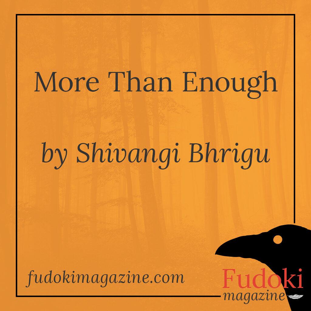 More Than Enough by Shivangi Bhrigu