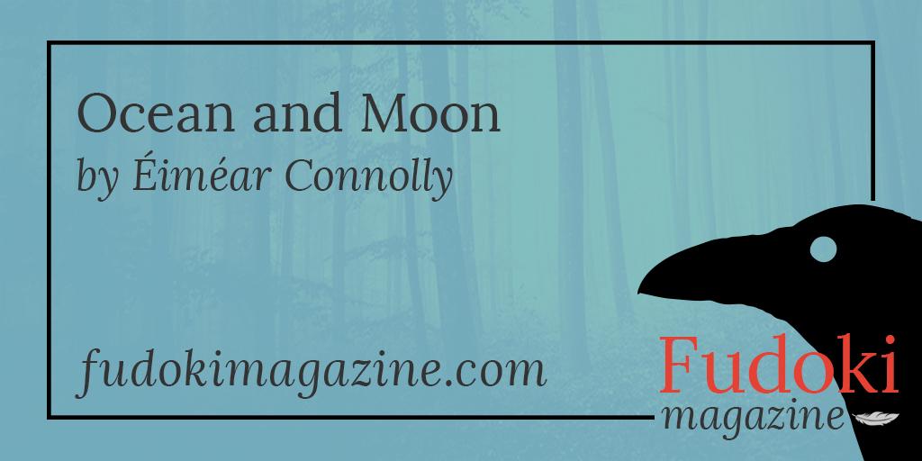 Ocean and Moon by Éiméar Connolly