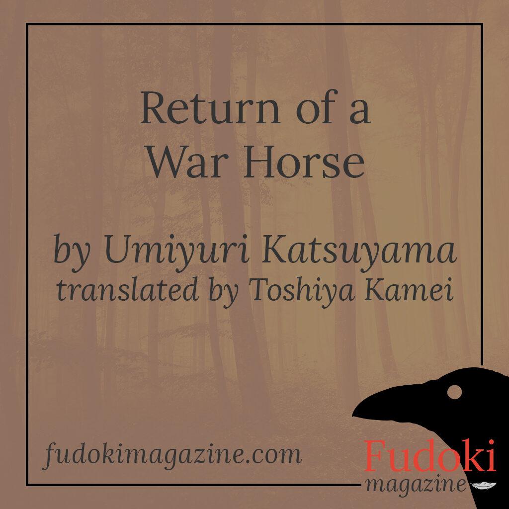 Return of a War Horse by Umiyuri Katsuyama