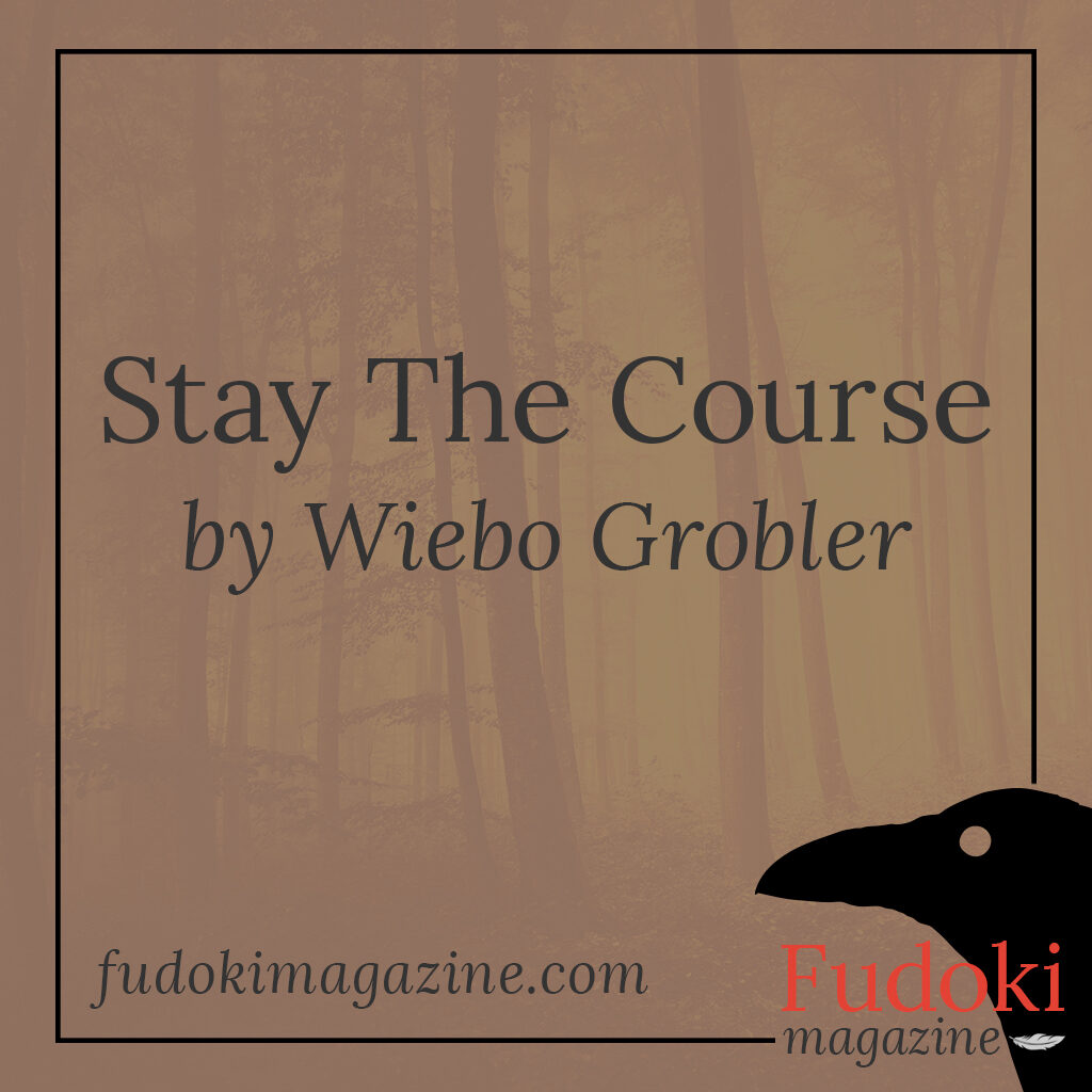 Stay The Course by Wiebo Grobler