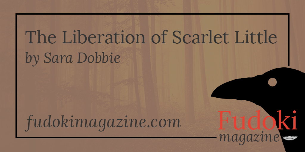 The Liberation of Scarlet Little by Sara Dobbie