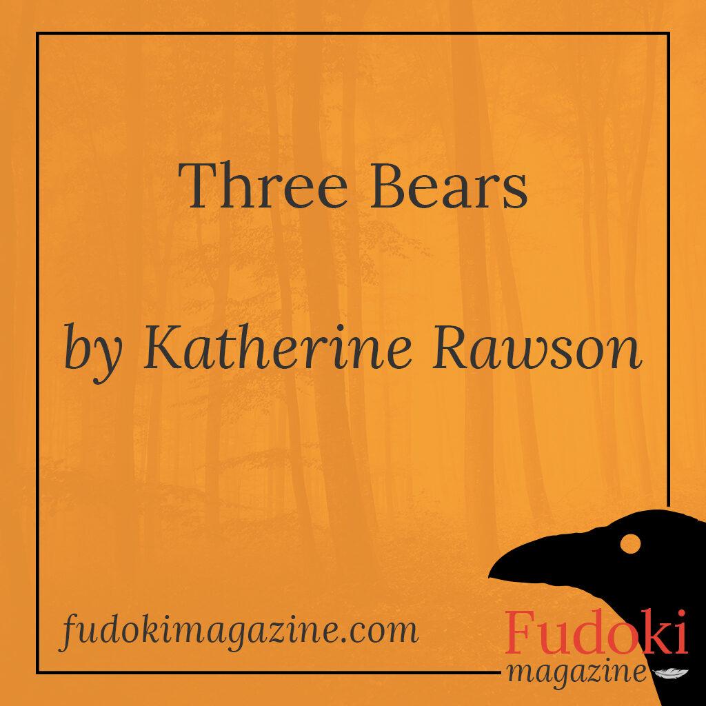 Three Bears by Katherine Rawson