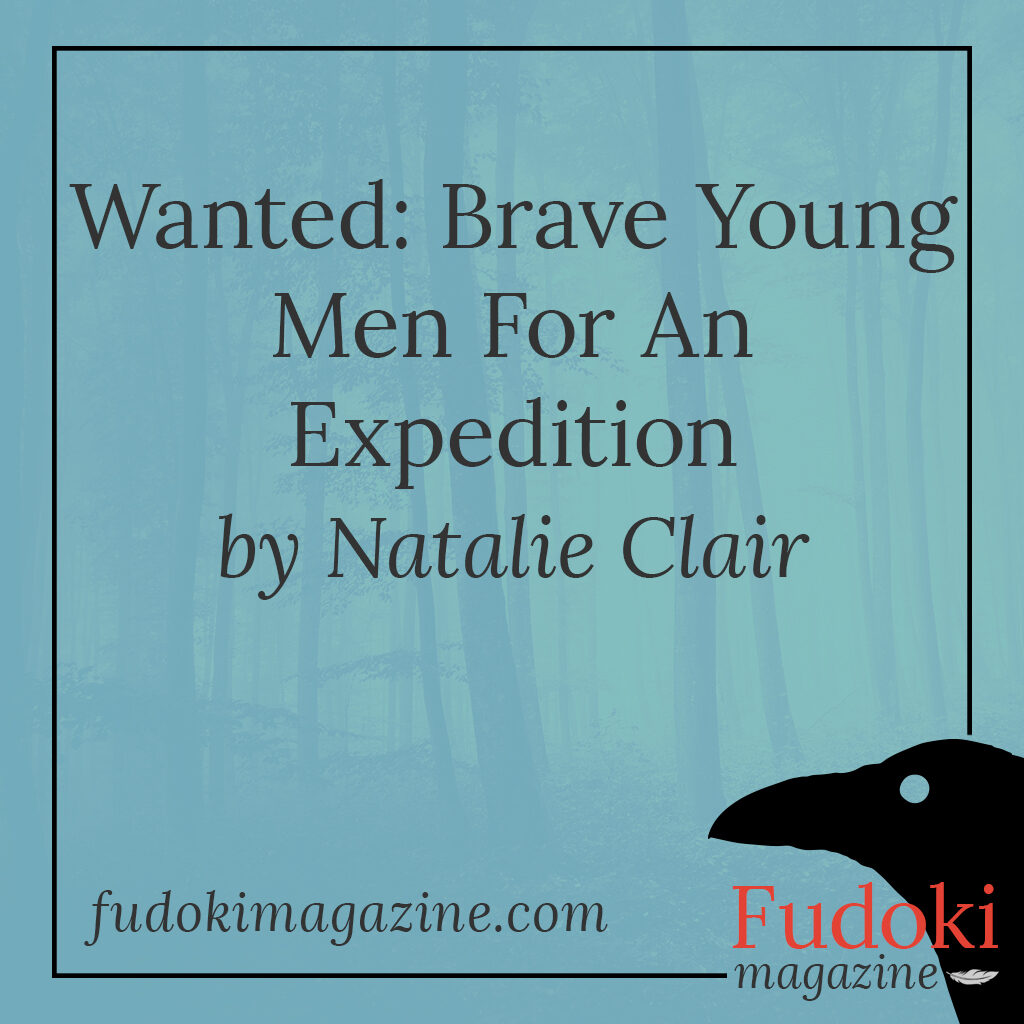 Wanted: Brave Young Men For An Expedition by Natalie Clair